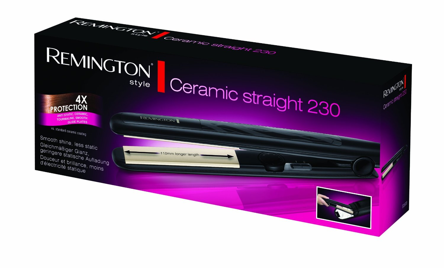 Remington S3500 Ceramic Straight 230 Hair Straightener Review