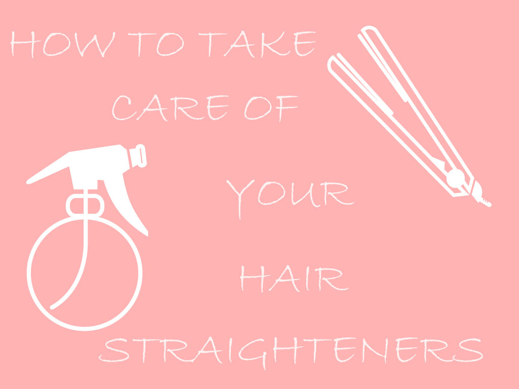 Take Care of Hair Straighteners