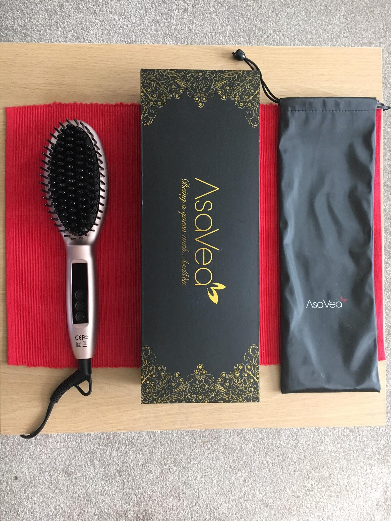 asavea straightening brush