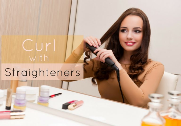 How To Curl Your Hair With Straighteners