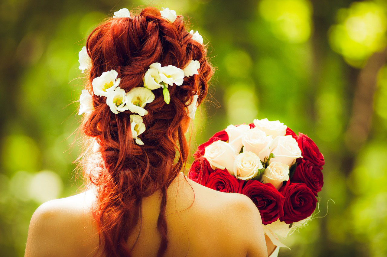 Doing Your Own Wedding Hair